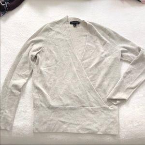 Ann Taylor wrap sweater - size M